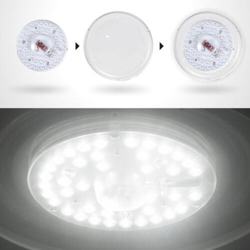 White Magnet PCB Board LED Light Ceiling Lamp Module Replace Source 12W 18W 24W