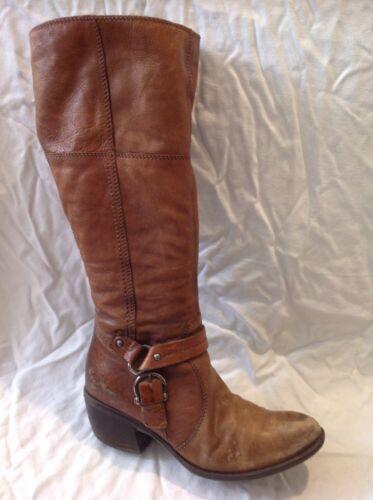 talla marrones 6 Botas de rodilla Clarks cuero hasta la Hg0gYfqc