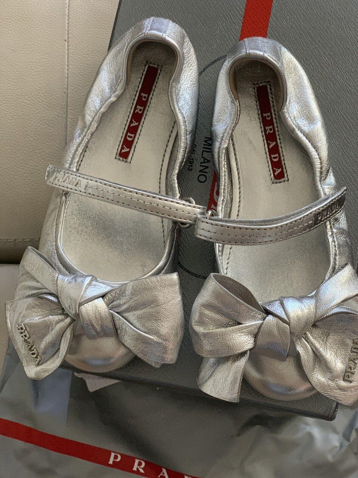 Prada Shoes Kids Flats Size 28 for sale