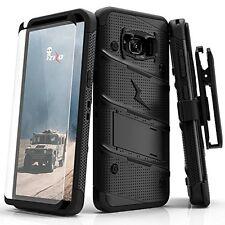 Samsung Galaxy S8 Plus Case, Zizo [Bolt Series] W Screen Protector Pick a color