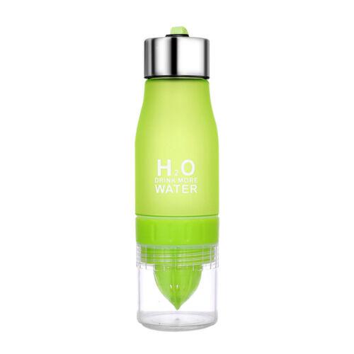 700ML Sports Lemon Cup Bottle H2O Outdoor Drink More Bike Water Drinking Bottle