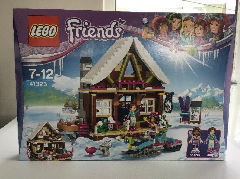 Lego Friends Snow Resort Chalet Set 41323 From 2017  Brand New