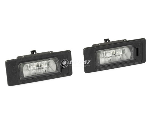 Set of 2 Genuine License Plate Lights Audi A1 A3 A4 A5 A6 A7 Q3 Q5 Q7 4G0943021A