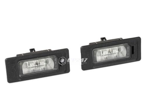 Set of 2 Genuine License Plate Lights Audi A1 A3 A4 A5 A6 A7 Q3 Q5 Q7 4G0943021A
