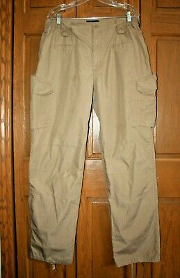 LA Police Gear Mens Water Resistant Operator Tactical Pant with Elastic Waistband