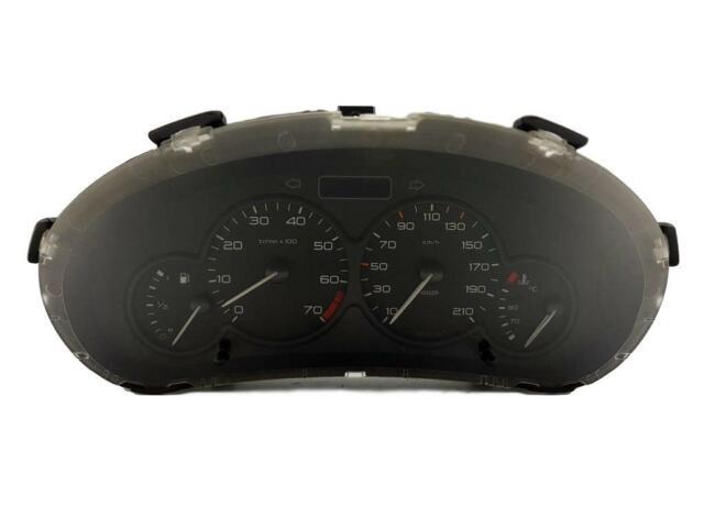 Bloc Compteurs Vitesse  Peugeot 206 9651740180 12593