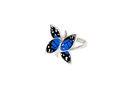 """Silver ring Finift Russian style  from /""""Factory /""""Rostov enamel/"""" 0,78*0,78 In"""