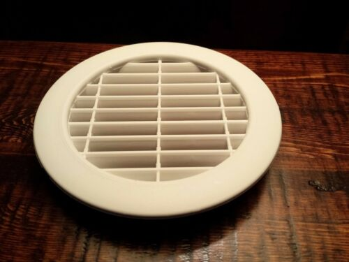 """Experiments or at Home 2pk 4/"""" White Round Vent Cover Great for School Projects"""