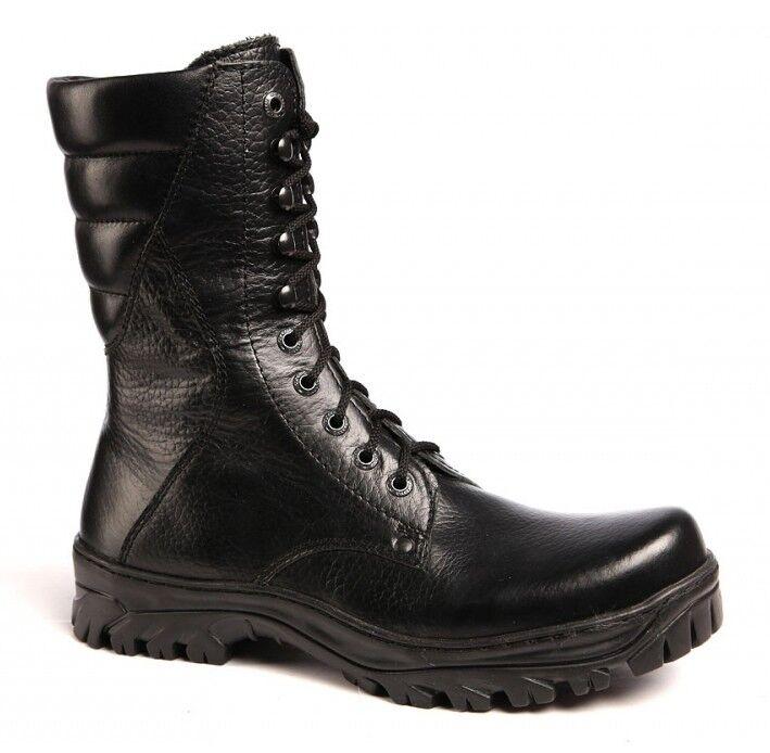 botas de cuero militar rusa Stalker soldado soviético botas botas De Invierno