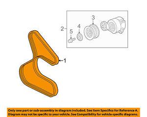 image is loading honda-oem-08-09-s2000-serpentine-drive-fan-