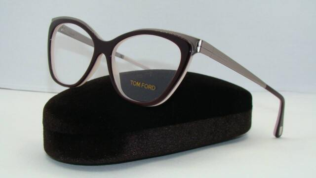 2a208dcca1b TOM FORD TF5374 TF 5374 050 Dark Brown Brille Glasses Frames Eyeglasses  Size 54