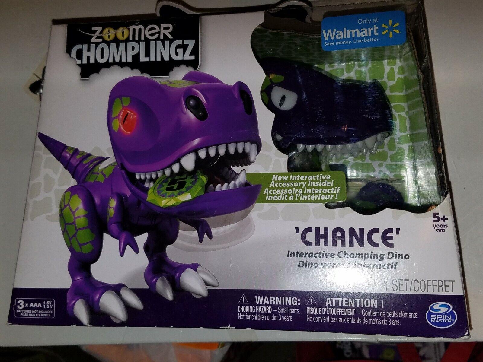 NEW Zoomer Chomplingz lila CHANCE WalMart Exclusive Sealed box