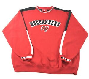 Tampa Bay Buccaneers Color Block Spell Out Pullover Sweatshirt Adult Xl Nfl Ebay