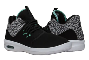 New Nike Air Jordan First Class AJ7312 031 Mens Black Emerald Grey ... bd3667ade