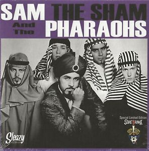SAM-THE-SHAM-amp-THE-PHAROAHS-034-IN-WITH-THE-OUT-CROWD-034-7-INCH-VINYL-SLEAZY-SPAIN