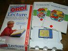 VINTAGE ancien RECHARGE lecture ordinateur ORDI 1991 jeux NATHAN pilou LOUSTIC