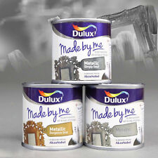 375ml 3 X 125ml Dulux Made By Me Metallic Upcycle Hobby Craft Paint