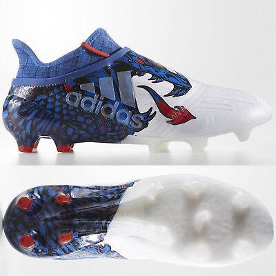 ADIDAS X 16+ purechaos FG UCL Dragon Pack Da Uomo Edizione Limitata Scarpe Da Calcio | eBay