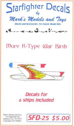 Starfighter Decals STAR TREK ROMULAN WARBIRDS More R-Type War Birds