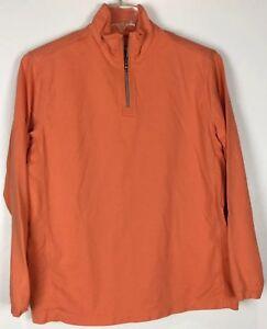 Mens-Tommy-Bahama-1-4-Zip-Pullover-Medium-Long-Sleeve-Cotton-Blend
