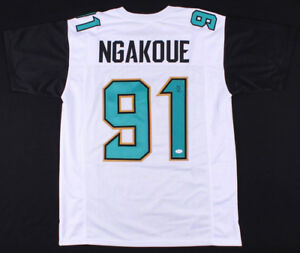 d6f2ce54f67 Image is loading Yannick-Ngakoue-Signed-Jaguars-Jersey -JSA-Jacksonville-2016-