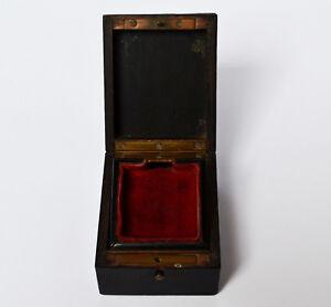 GüNstig Einkaufen Taschenuhrenkasten Taschenuhr - Behälter Halter Holz Messing 19. Jh. Frankreich