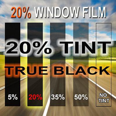 "2PLY Window Tint Film 20% VLT 20"" x 10 feet Roll Car Home Office Tinting"