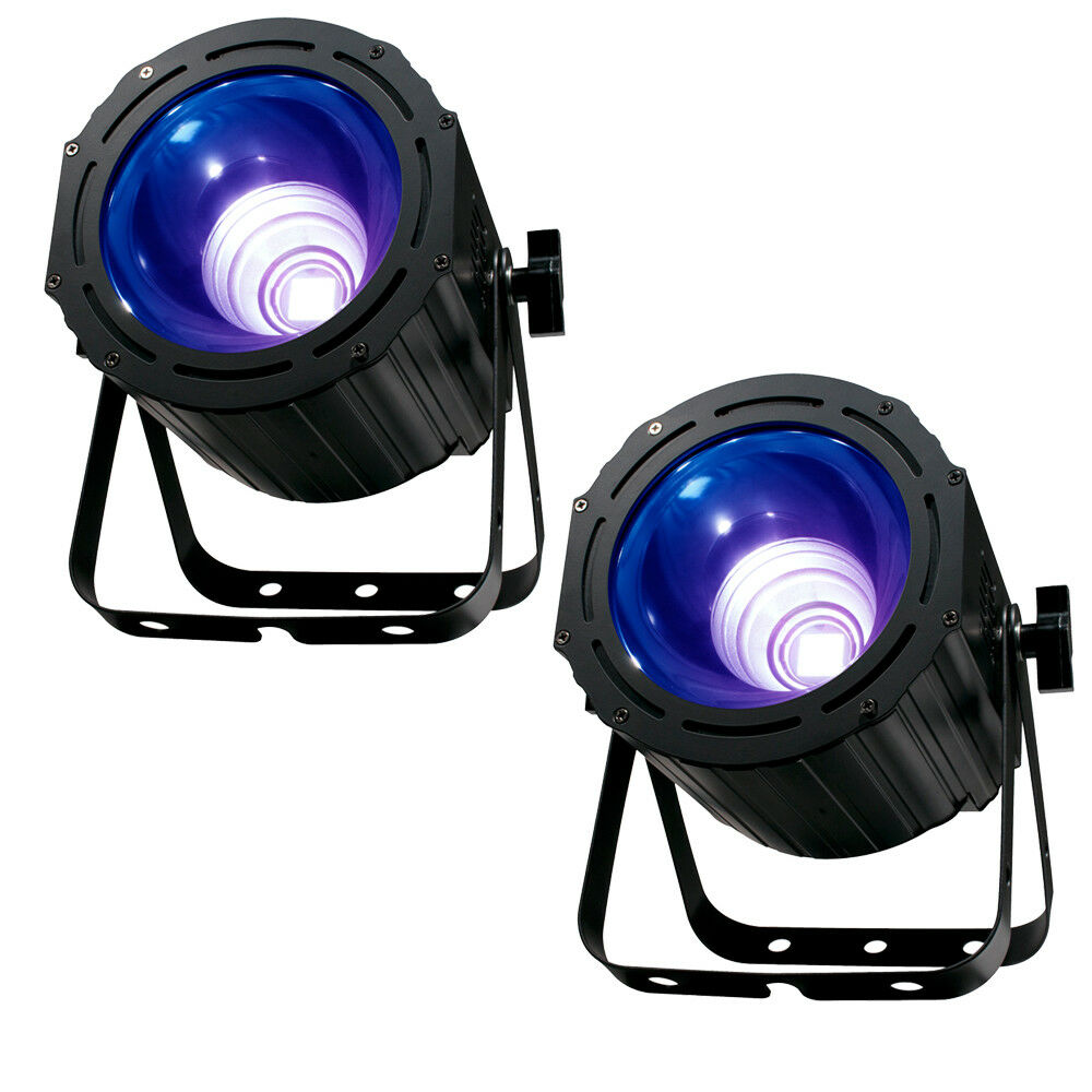 American DJ Products UV COB CANNON LED UV Wash Light Variable Speed Strobe-PAIR