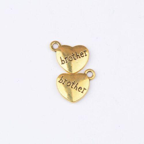 Tibetan Silver Bird Charm Bracelet Necklace Pendant Beads Jewelry Findings #5