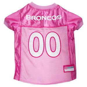 DENVER-BRONCOS-Licensed-NFL-Pets-First-Dog-Pet-Mesh-Pink-Jersey-NWT