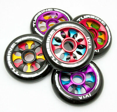 Ixia Turbine Stunt Scooter Wheels (Pair) - 100mm - Various Colours Available