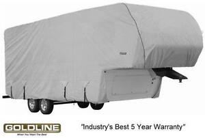 Goldline-Premium-RV-Trailer-5th-Wheel-Toy-Hauler-Cover-Fits-36-to-38-Foot-Grey
