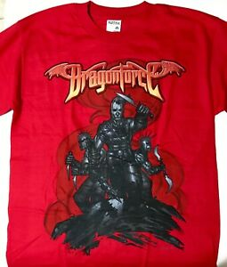 NEW DragonForce tour shirt The Power Within shirt British power metal band Speed metal Men/'s size S