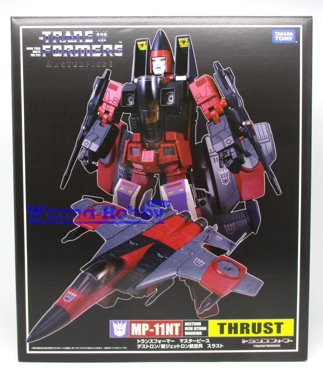 Transformers Masterpiece MP-11NT de empuje 42606 TAKARATOMY exclusivo de Japón menta en caja sellada