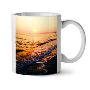 Landscape Ocean NEW White Tea Coffee Mug 11 oz | Wellcoda
