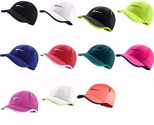 Brand NEW with Tags Authentic NIKE FEATHER LIGHT WOMENS Hat Cap Dri ... db25786c81b