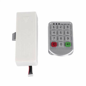 Phenomenal Details About Electronic Digital Keypad Lock Supermarket Cabinet Door Code Password Lock Home Interior And Landscaping Ologienasavecom