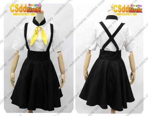Gatchaman Crowds Hajime Ichinose cosplay costume black skirt with stockings