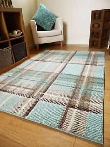 Small Large XL Modern Design Duck Egg Patterned Rugs Long Hall ...