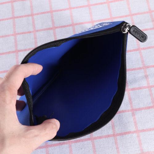 5Pcs Canvas Tool Pouch Zipper Bag Utility Bags Heavy Duty Metal Zip 5-Colors