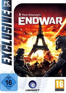 Tom-Clancy-039-s-Clancys-Endwar-End-War-Weltkrieg-Simulation-Pc-Neu-Ovp-Deutsch