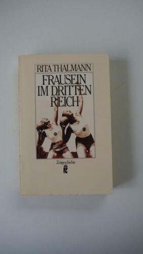 1 von 1 - Rita Thalmann - Frausein im Dritten Reich - (K18)