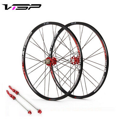 "Racing MTB Bike Wheelset disc Brake 8//9//10//11 Speed Rivet Rim Wheel 26/""//27.5/"""