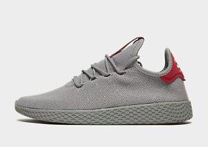 Details about Adidas Originals X PHARRELL WILLIAMS TENNIS HU Men's Trainer (UK 6 13)Grey BNIB