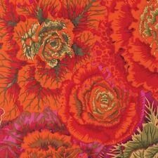 tissu patchwork kaffe fassett Brassica orange 45x55cm