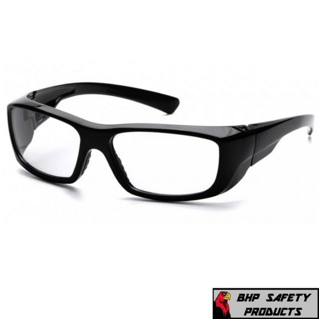 Pyramex Safety SB7910DRX Emerge Black Frame With Clear Lens | eBay