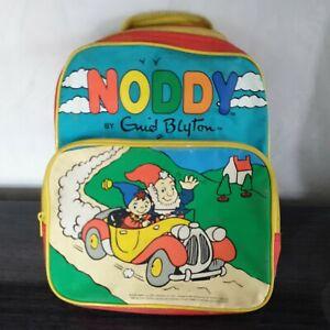 VINTAGE 1992 Noddy Enid Blyton BBC Zaino Scuola Borsa Bambini Ragazzi Ragazze RARO
