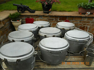 BRITISH-ARMY-VARIOUS-COOKWARE-FIELD-KITCHEN-BUSHCRAFT-OUTDOOR-EXPEDITION