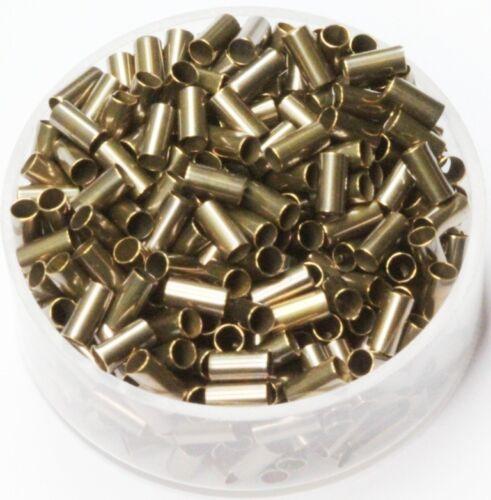 100 P. Length 5 mm Vintage Brass Tube Spacer Beads  Inside Diameter 2 mm