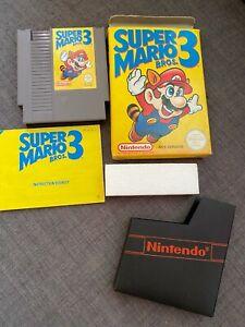 Super Mario 3 Bros. Authentic NES  PAL A Game Tested CIB